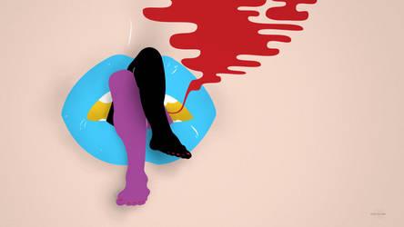 Candy Says - Wallpaper by harajukumatt