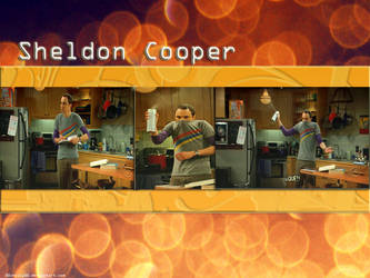sheldon cooper by 00cheily00