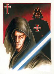 New Black Prince Templar Knight _1 by eduartineanimacionet