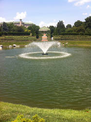 The Beautiful Lake at the Gardens by hershey990