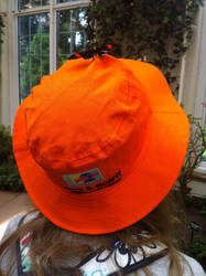 Butterflies on my Stringed Bucket Hat by hershey990