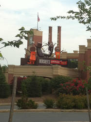 The Chocolate World sign by hershey990