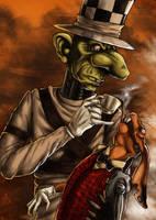 Hatter's Tea Party by LadyFiszi