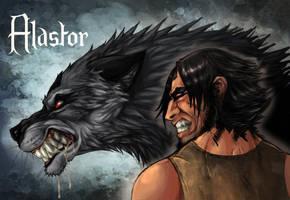 Rabid Werewolf by LadyFiszi