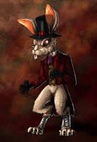 Alice Madness Returns - White Rabbit by LadyFiszi