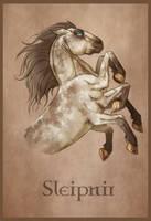 Sleipnir by LadyFiszi