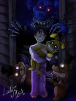 Five Nights At Freddy's 4 fanart by LadyFiszi