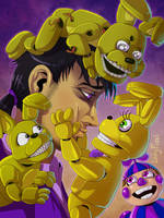 PG in FNAF world - Attack of the golden buns by LadyFiszi