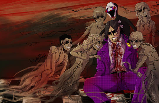 Purple Guys Death by LadyFiszi