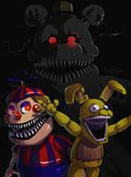 FNAF 4 - nightmare by LadyFiszi