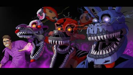 FNAF - Creator of Nightmares by LadyFiszi