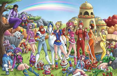Rainbowbrite by SHA by Patreek