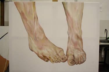 Feet - work in progress by Omeno