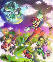 Super Mario Bros. 2 by SuperCaterina