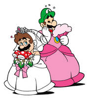 Mario and Luigi by SuperCaterina