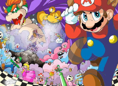 The Legend: Super Mario Bros 3 by SuperCaterina