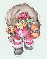 Merry Christmas, Bowser by SuperCaterina