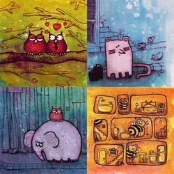 children_illustrations by molokolo