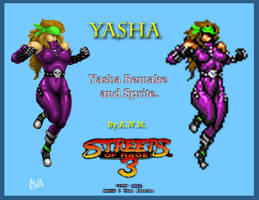 Streets of Rage 3. Yasha. by Naliaw