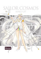 Sailor Cosmos Fic Cover by ShouriMajo