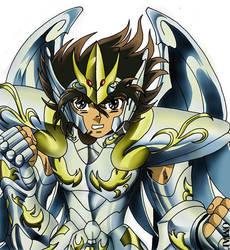 Armadura Divina de Pegaso/Pegasus God Cloth by triciox
