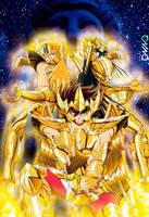 Athena Exclamation: Seiya, Hyoga y Shiryu by triciox