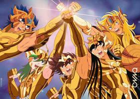 Bronze Saints: Gold Clothes by triciox