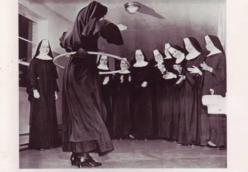 HoolaHoop Sisters 1958 by PostcardsStock