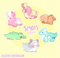 Smols Flatprice + Gacha- |OPEN!| by Kaiidumb