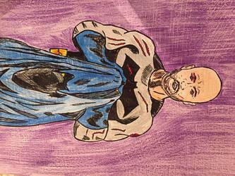 Batman as selfportrait by PomahToppece