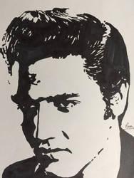 Elvis Presley by PomahToppece