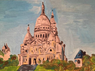Paris Sacr Coeur by PomahToppece