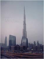 Burj Khalifa - Dubai by Ms-Maybe