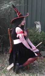 Orange Witch 9 by astrals-stock