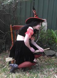 Orange Witch 10 by astrals-stock