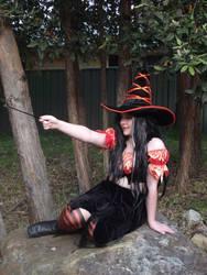 Orange Witch 13 by astrals-stock