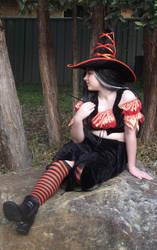 Orange Witch 15 by astrals-stock