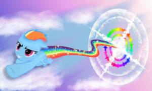 Sonic Rainboom by Apodes