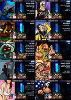 Super Best Friends Brawl - Select Screen by 2snacks