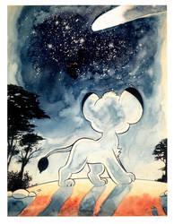 Kimba_Nights of the Comet by SergioKa