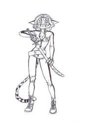 Danger Kitty - Henrika by Pilar-Sama