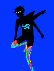 Rainbow Socks by Firecrackler