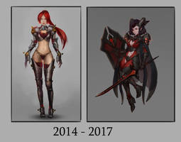 2014-2017 by Kittew