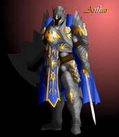 Arthur Pendragon of Camelot by FarinellaPortfolio