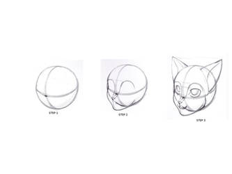 How To Draw Furry Cat Head By Fortkodi012 On Deviantart