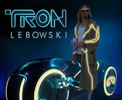 Tron: Lebowski by MarOmega