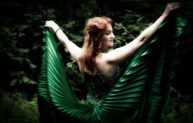 The Witcher's photo shoot - elf by badzia90