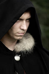The Witcher's photo shoot - dark elf by badzia90