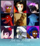Art vs Artist (2018) by Eliestia