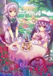 Scarlet Teatime by pcmaniac88